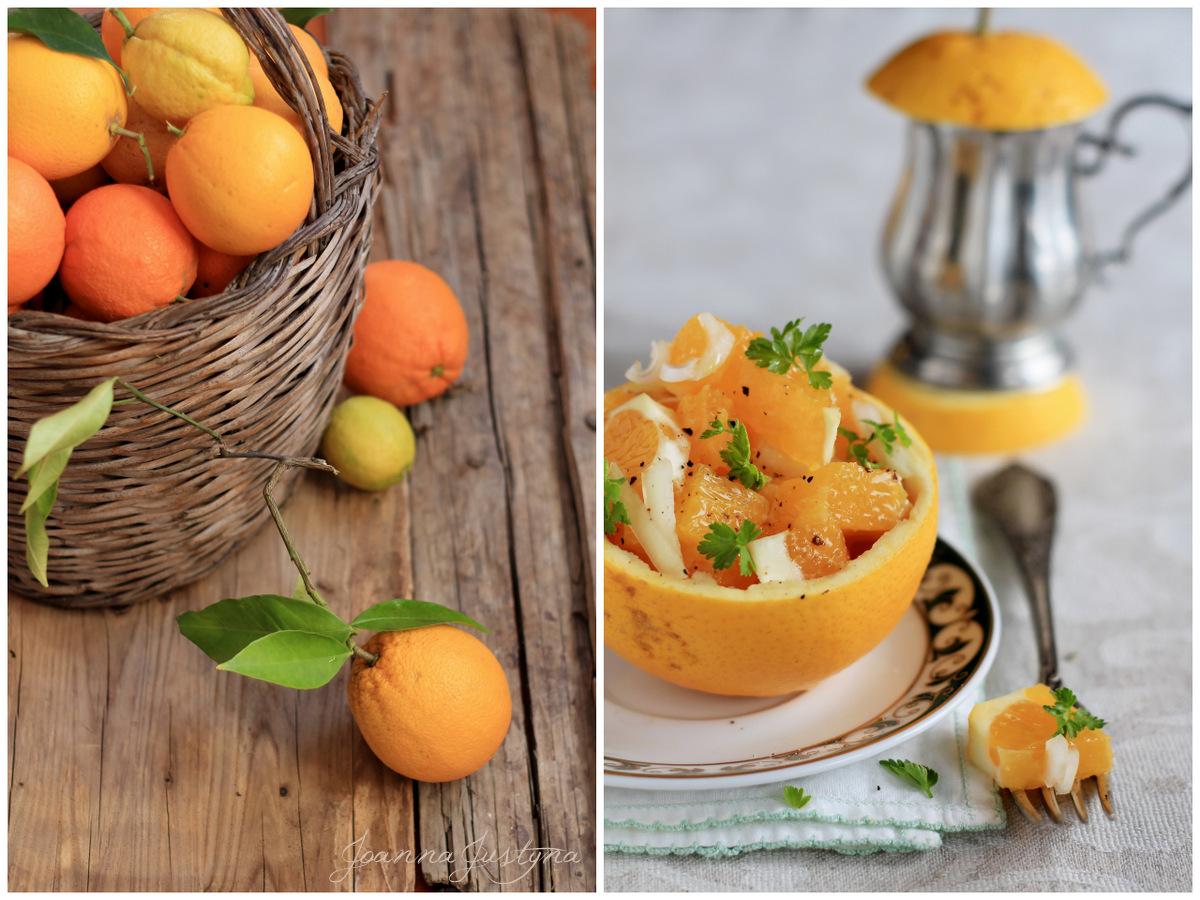 Insalata di arance e cipolla