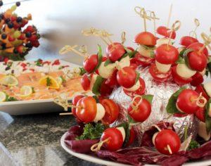 deoracje z owoców i warzyw