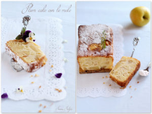 dolce con le mele tipo plum cake
