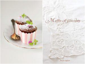muffin al cioccolato al profumo d'arancia