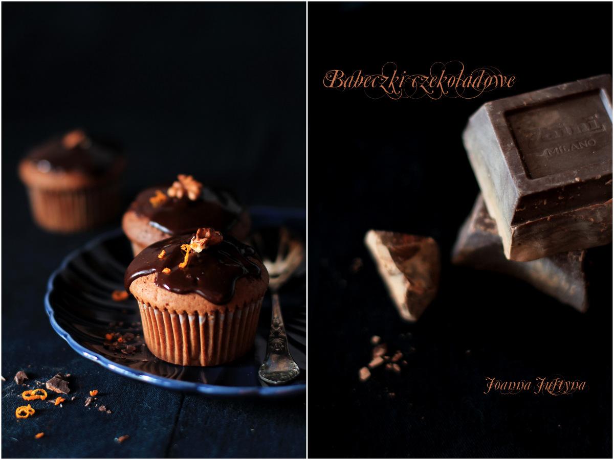Muffin czekoladowe o zapachu pomarńczowym