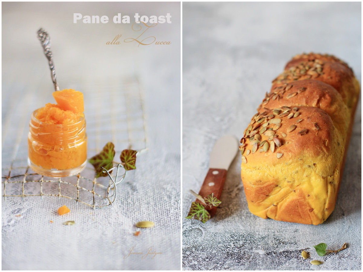 pane morbido con la zucca