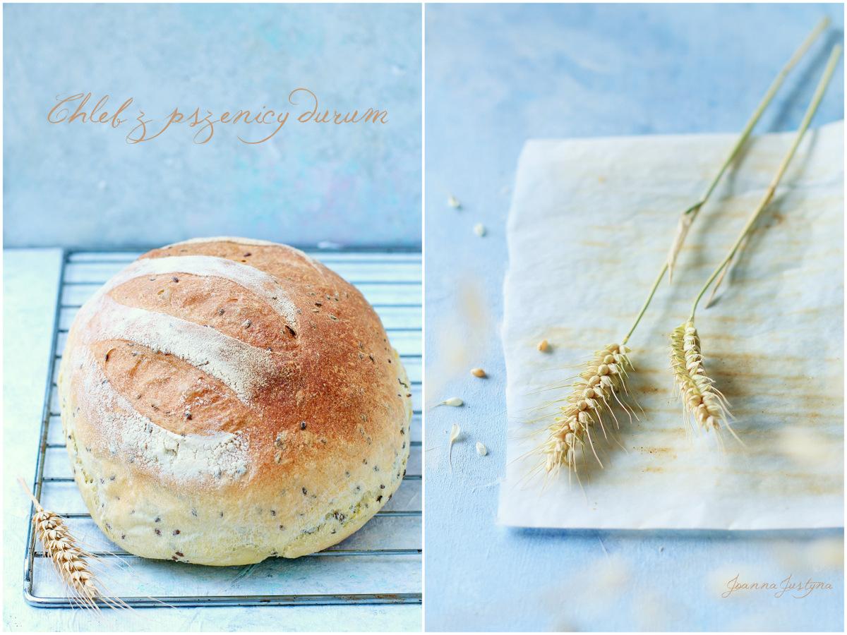 chleb z mąką semolina