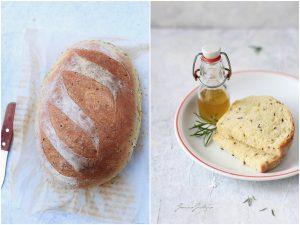 Pane con farina di semola di grano duro