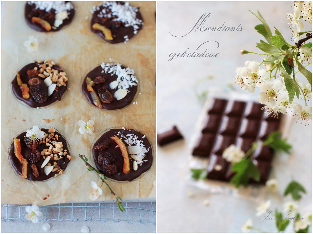 krążki czekoladowe,
