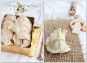 Pierogi con champignon