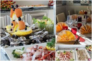 Buffet di hotel Monaco a Caorle