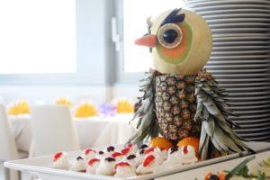 dekoracje z owoców i warzyw
