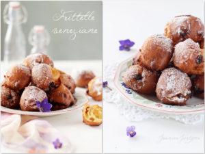frittelle veneziane, dolci fatti in casa